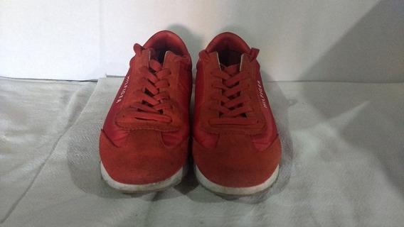 Tommy Hilfiger Tenis Rojos Talla 26