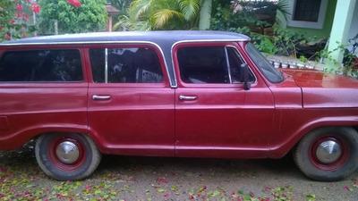 Vendo Ou Troco Veraneio 73, Motor Original