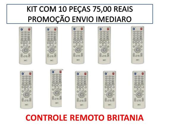 Controle Remoto Britania Usb Kit Com 15 Peças Envio Imediato