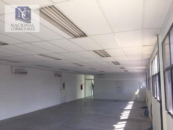 Galpão Para Alugar, 2517 M² Por R$ 53.000/mês - Jardim Vera Cruz - São Bernardo Do Campo/sp - Ga0639
