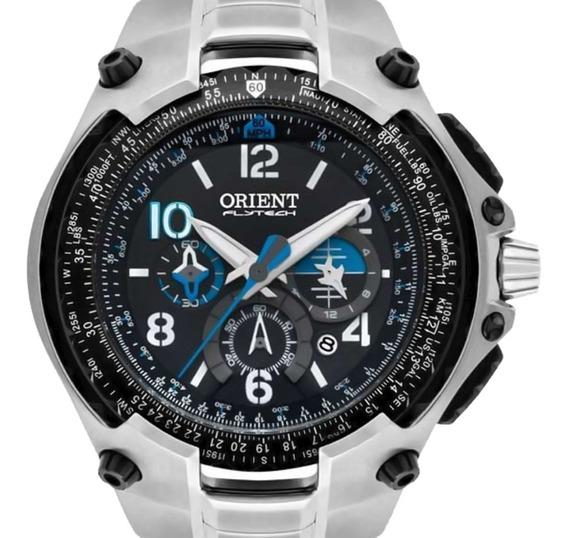 Relogio Orient Flytech Cronógrafo Mbttc016 P2sx Titanium