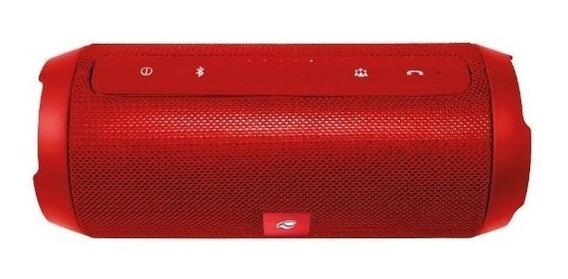 Caixa De Som Bluetooth Pure Sound Sp-b150rd Vermelho C3 Tech