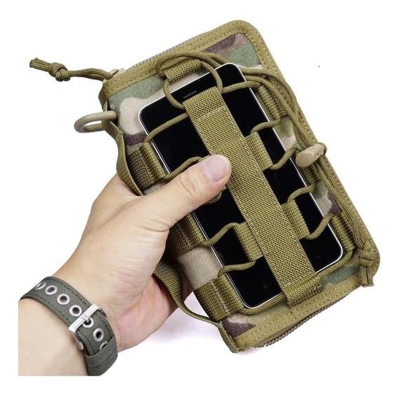 Cartera Porta Celular Tactica Militar Tipo Moller