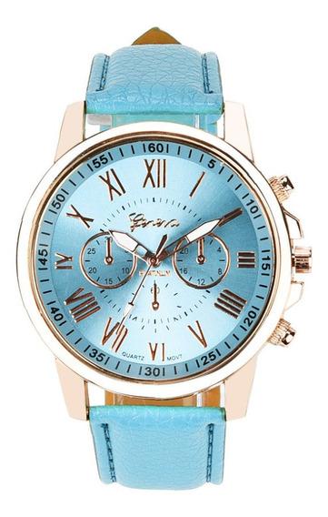 Relógio Importado Genebra Feminino, Barato!