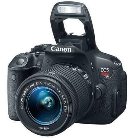 Câmera Digital Dslr Canon Eos Rebel T5i 18mp Original