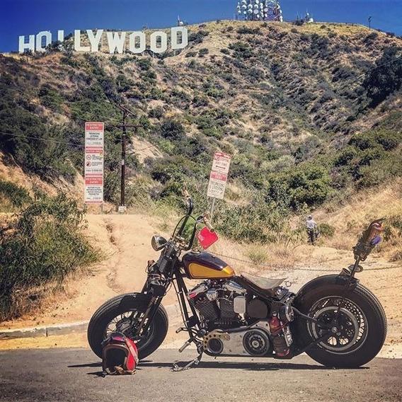 Bobber Sullivan Chopper Suspension Springer Los Angeles