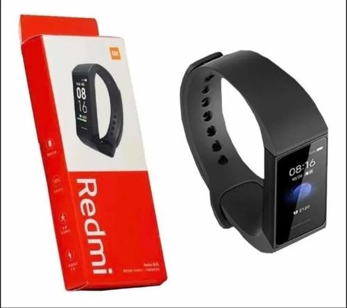 Pulseira Relógio Smartwatch Xiaomi Mi Smart Band 4c Na Caixa