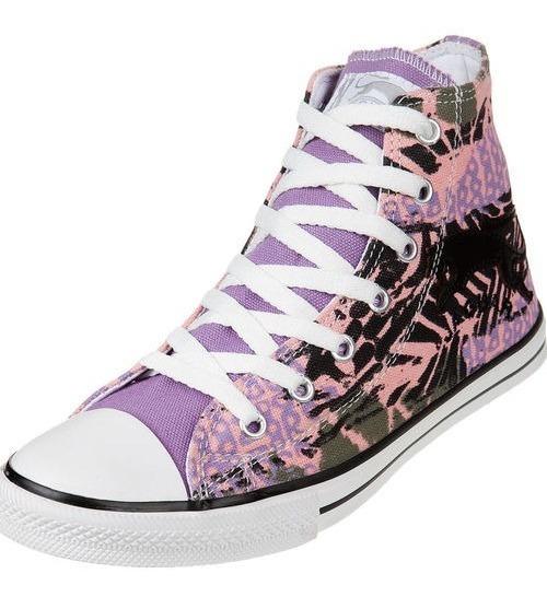 Zapatillas Botitas Jaguar Lilas. Mujer N° 38