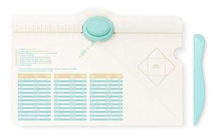 Scrapbook Tabla Dobleses Creadora De Sobres Con Perforadora