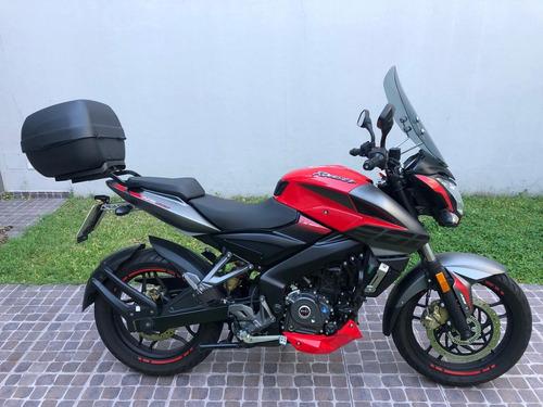 Moto Usada Bajaj Rouser Ns 200 Fi 2019 3625kms Urquiza Motos