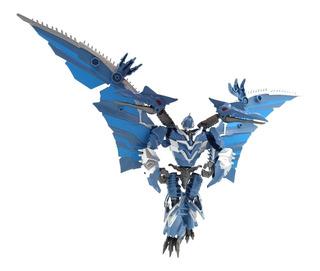 Muñeco Transformer Spper Change Juguete Robot Dinosaurio