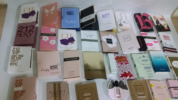Kit 50 Amostras Perfumes Importados - Melhopreço Por Unidade
