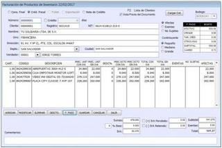 Programa De Facturación, Inventario, Cuentas Por Cobrar, Iva