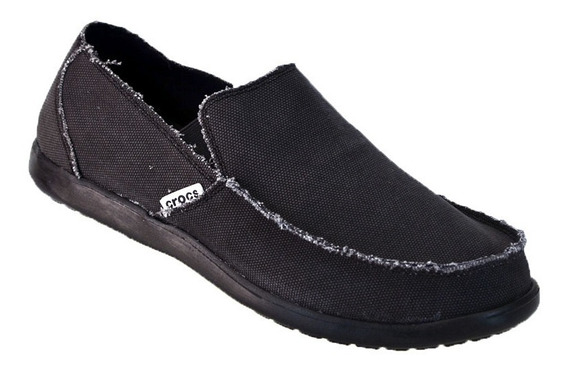 Crocs Mocasín Santa Cruz Original Envios Local Sport Negro