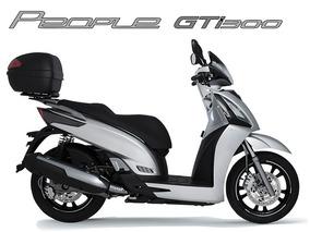 Scooter Kymco People Gti 300 Abs 0km 2018 Garantia D Fábrica
