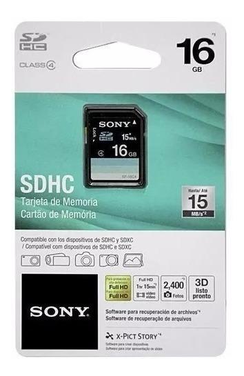 Cartão De Memória Sdhc Sony 8gb Classe 4 15mb/s