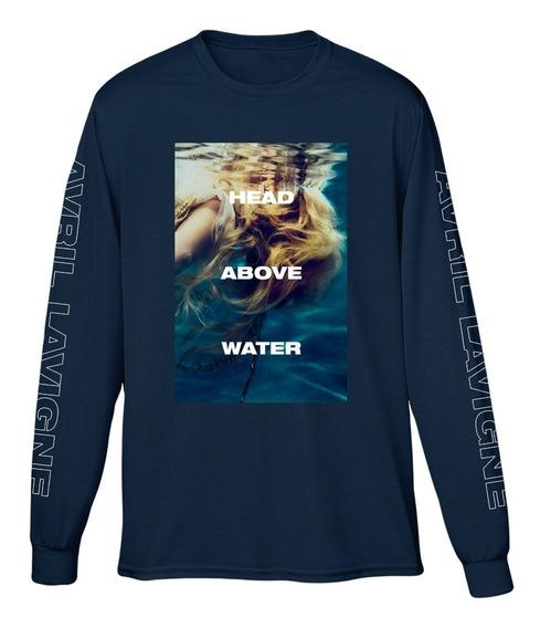 Casaco Blusa Moletom Avril Lavigne Head Above Water