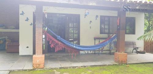 Casa Com 3 Dormitórios À Venda, 430 M²  - Cond. Park Imperial, Praia Massaguaçu - Caraguatatuba/sp - Ca0516