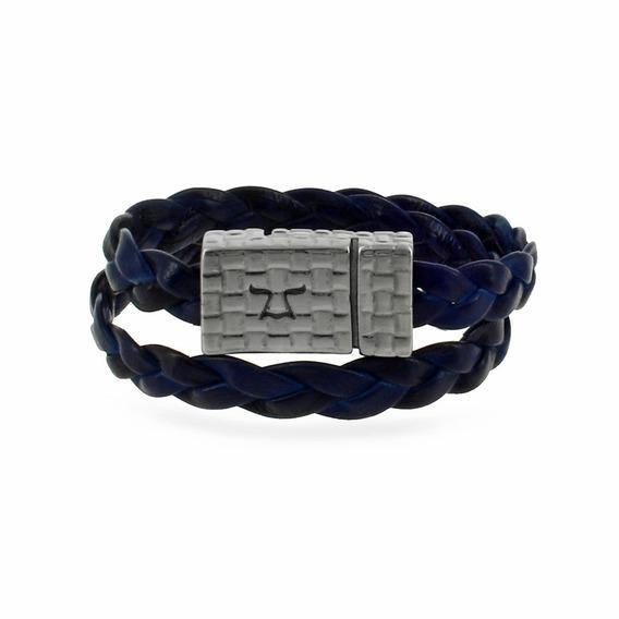 Brazalete Poil Patina Azul Pp-nns-nrg-3