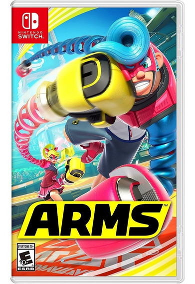 Arms Switch Mídia Física Lacrado