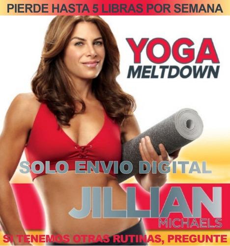 Jillian Michaels Yoga Derretidor Fitness Sin Pesas En Casa