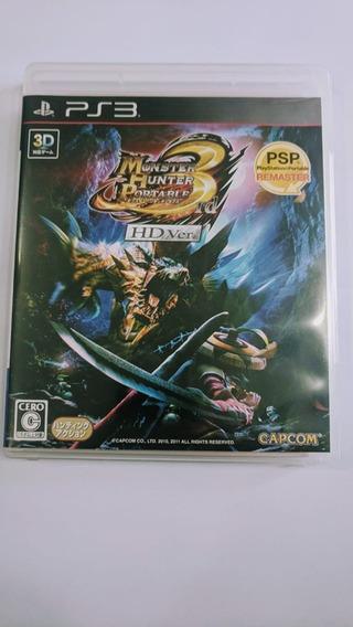 Monster Hunter 3 Rd Portable Edition Hd Ver. Ps3 Usado