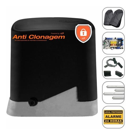 Kit Motor Portão Eletrônico Deslizante Ppa 1/4 Anti Clonagem