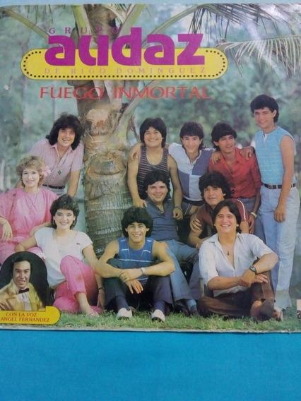 Rigo Domingue Y Su Grupo Audaz. Fuego Inmortal. Disco Lp