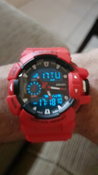Relógio Smael Original Esporte Militar Prova D