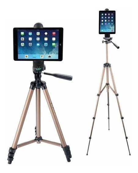Suporte Tablet Pedestal Tripé Tablet iPad Celular 5 A 12 Pol