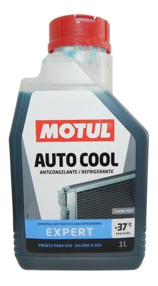 Liquido Fuido Motul Inugel Expert Radiador Moto Ou Carro 1lt
