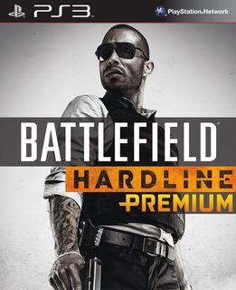 Battlefield Hardline Premium Edition ~ Ps3 Digital Español