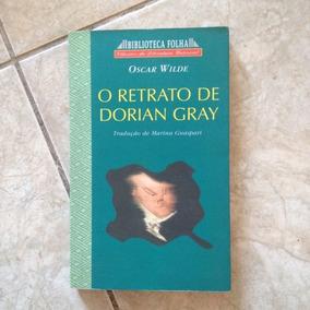 Livro O Retrato De Dorian Gray Oscar Wilde Biblioteca Folha