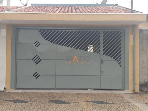 Imagem 1 de 16 de Linda Casa Com 2 Dormitórios À Venda Por R$ 280.000 - Jardim Floridiana - Rio Claro/sp - Ca0438