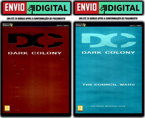 Dark Colony + Expansão The Council Wars - Pc - Envio Digital