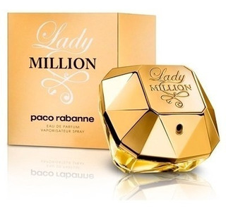 Perfume Importado Paco Rabanne Lady Million Edp 30ml