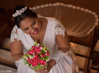 Vestido De Noiva Plus Size 52 Estilo Princesa