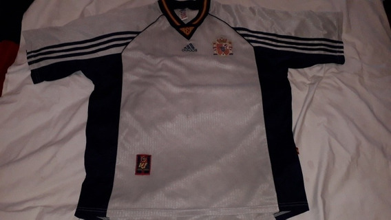 Camiseta Alternativa Seleccion España 1998 Xl Original