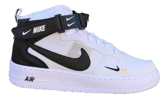Tenis Bota Nike Air Force + Brinde Kit C/ 3 Pares De Meias
