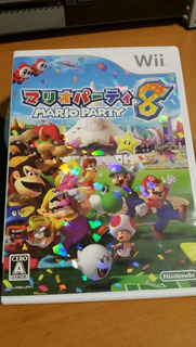 Mario Party 8 Japones Original Para Nintendo Wii