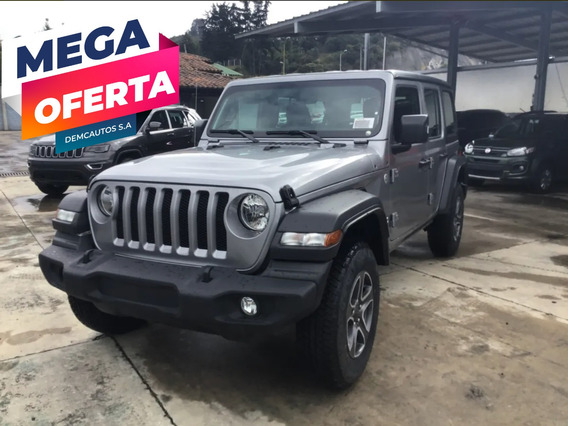 Jeep Wrangler Unlimted At 2020 Gris
