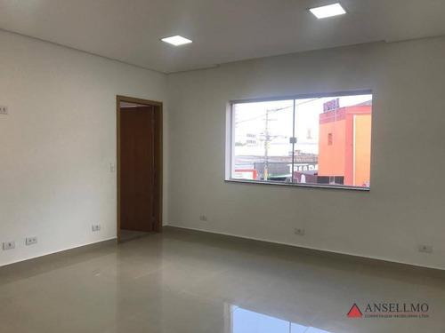 Imagem 1 de 17 de Sala Para Alugar, 90 M² Por R$ 1.500,00/mês - Centro - São Bernardo Do Campo/sp - Sa0523