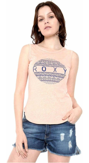 Playera Color Salmón Roxy Talla M