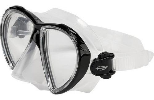 Mascara De Mergulho Orbit Preta - Mormaii