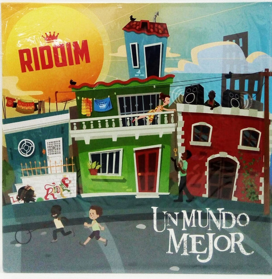 Vinilo Riddim Un Mundo Mejor Lp