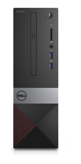 Pc Dell I3 8gb 1tb Ubuntu Vostro Teclado Ñ Gtia Oficial Ram