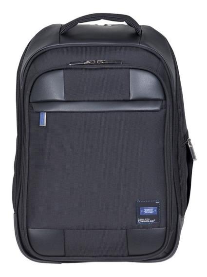 Mochila Dax Laptop 681 Negra 15,6 Lts Saxoline