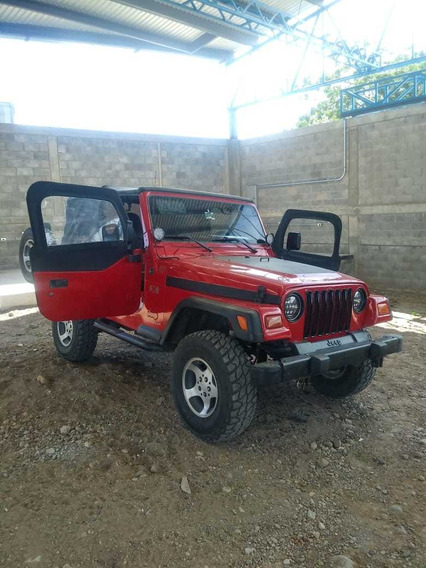 Jeep Wrangler 2.5 Se Techo Lona At 1997