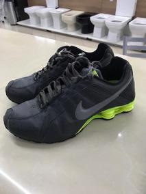 Tênis Nike Shox Junior - Verde Militar