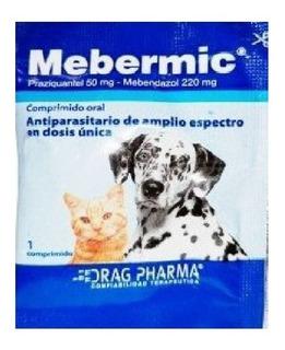 Pastilla Antiparasitaria Interna Mebermic Mevermic Nematodos